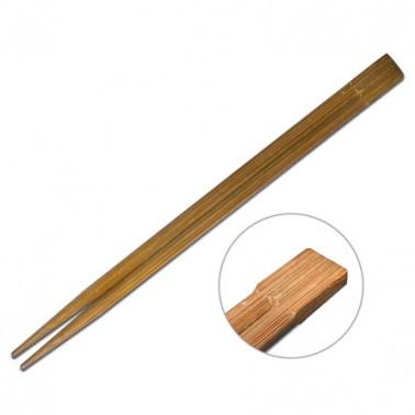 Palillos Twin Bambú 21cm s/f 100pares oscuros