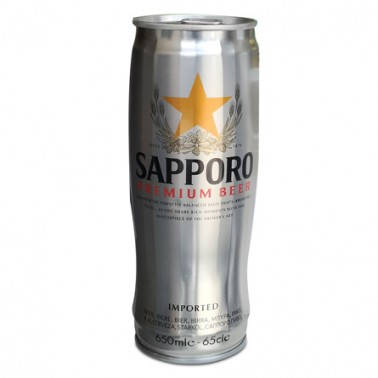 Sapporo Lager 650ml Lata