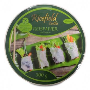 Papel de Arroz 22cm Ricefield 300gr