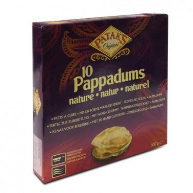 Pappadum natural Patak´s 100gr