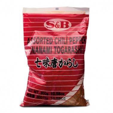Shichimi Tougarashi 7 Especias Picantes 300gr