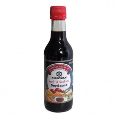 Salsa de soja Kikkoman Sushi&Sashimi 250ml