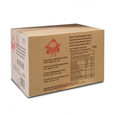 Chef´s World No2 Extra Thin Noodles 7Kg