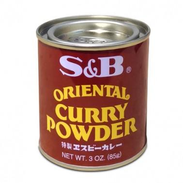Oriental Curry Polvo S&B 85gr