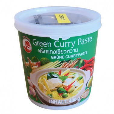 Pasta Curry Verde Cock 400gr