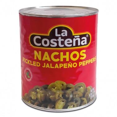 Jalapeños Nachos La Costeña 2,8Kg