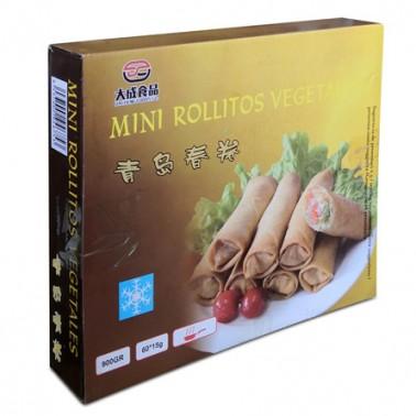 Mini Rollitos Vegetales 60pcs