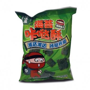 Chips de alga nori 30gr x 12p