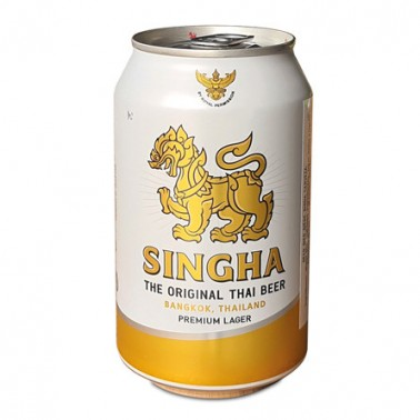 Cerveza Thai Singha Lata 330ml