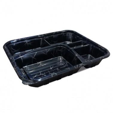 Bento Box Plástico 265x205x35mm / 50uds