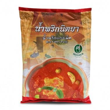 Nittaya Pasta de Curry Rojo 1Kg