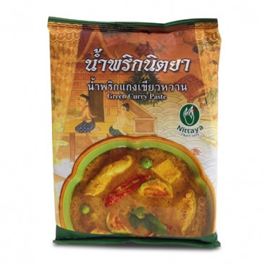 Nittaya Pasta de Curry Verde 1Kg