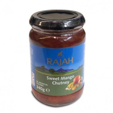 Pasta Sweet Mango Chutney Rajah 340gr