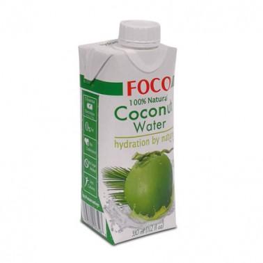 FOCO Agua Coco UHT 330ml
