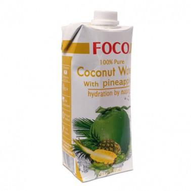 FOCO Agua Coco/Piña UHT 500ml