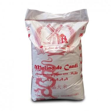 Arroz Semilargo Molino de Candi 20Kg