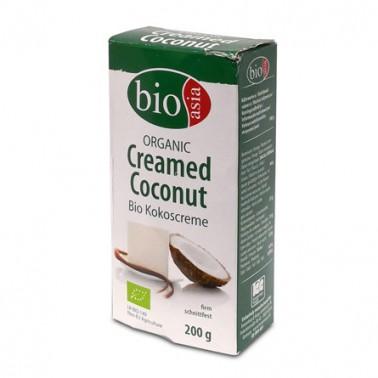 Crema coco orgánica Bioasia 200gr