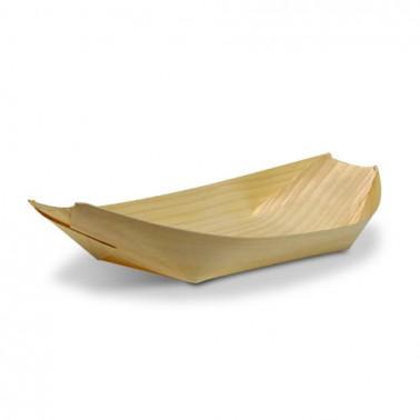 Barco 19cm Madera de Pino 100pcs